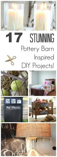 Pottery Barn Inspired DIY Projects