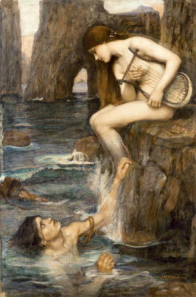 John William Waterhouse-The Siren