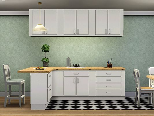 Sims 3 kitchen, counters, cabinets, islands, furniture ...