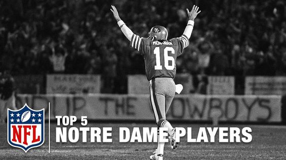Top 5 Notre Dame Players in NFL History