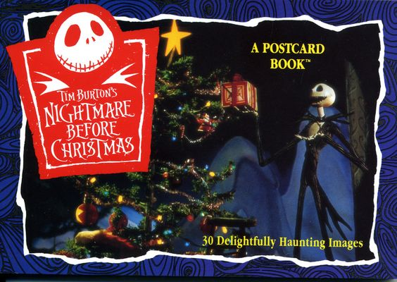 Nightmare Before Christmas Postcard Book