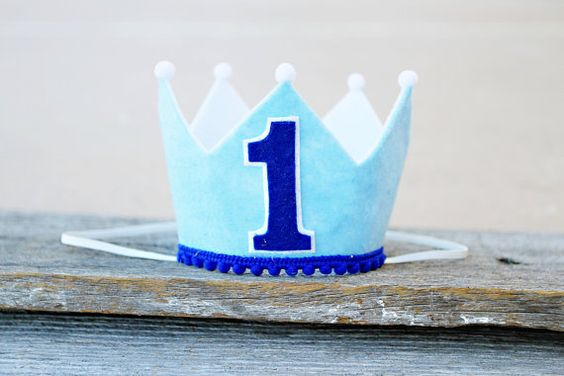 Hey, I found this really awesome Etsy listing at https://www.etsy.com/listing/218912440/boys-first-birthday-crown-boys-felt