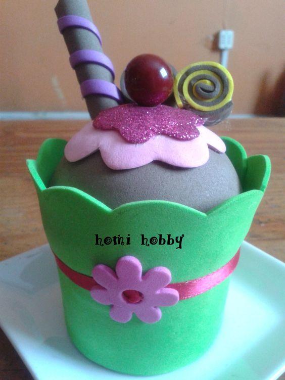 un rico helado de decoracion