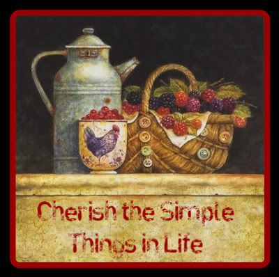 Country - Cherish the simple things in life