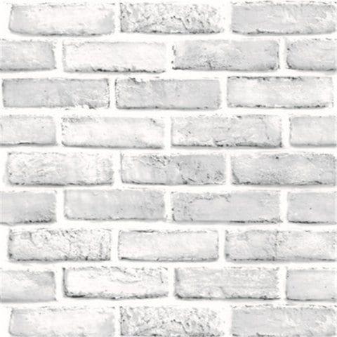 Creative 3d Waterproof Brick Wall Stickers Self Adhesive Nostalgic Wallpaper Caf White Regular Faux Brick Wallpaper Brick Wallpaper Wall Stickers Wallpaper