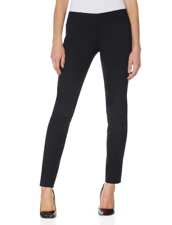 Wonderful Michael Kors Skinny Stretchwool Dress Pants In Black  Lyst