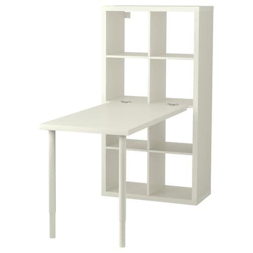 Micke Desk White 41 3 8x19 5 8 Add To Cart Ikea Kallax Ikea Ikea Kallax Desk Kallax Desk