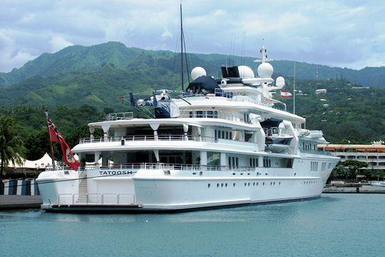 Les yachts des grands patrons  Tatoosh de Paul Allen