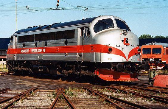 TMY 102  Bahngesellschaft TGAB