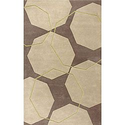 @Overstock - Add a piece of art to your floor space with this unique geometric rug. This hand-tufted wool rug features shades of beige, grey and green.http://www.overstock.com/Home-Garden/Hand-tufted-Geo-Stones-Beige-Wool-Rug-8-x-10/4813345/product.html?CID=214117 $317.99