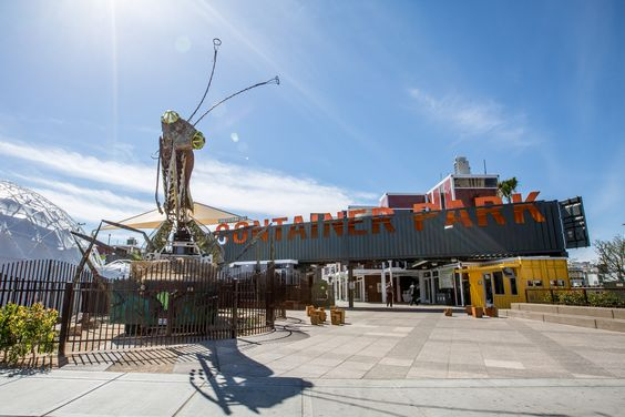 Downtown Container Park vegas