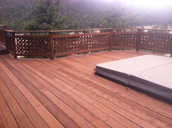 Cabot Deck Stain In Semi Solid New Redwood Best Deck Stains Pinterest Decks And Stains