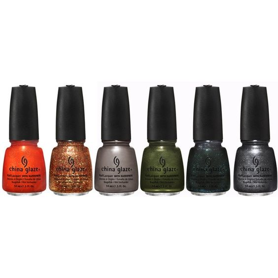 China Glaze Capitol Colours (Hunger Games) Nail Polish Collection missmarvy