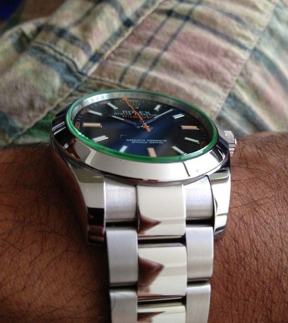 Rolex Milgauss 116400GV Watch Review