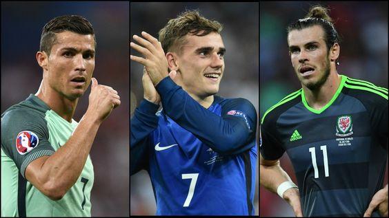 Christian, Griezman, Bale