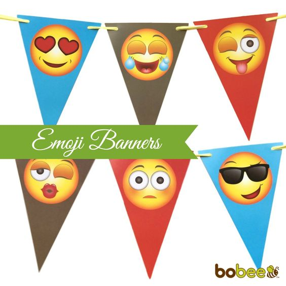 face plus emoji faces and banners on pinterest