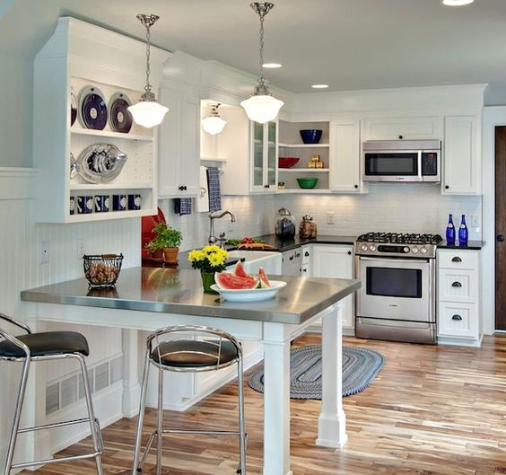Small Kitchen Lighting: Creative Ways To Save Space In Your Small Kitchen - Home Decorating Trends,Lighting
