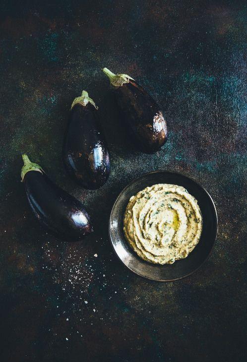 melitzanosalata. that garlicy yummy greek dip.