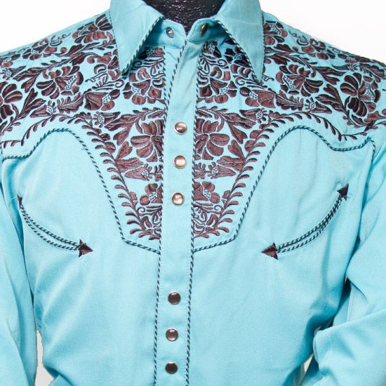 Shirts Western Style And Brown On Pinterest