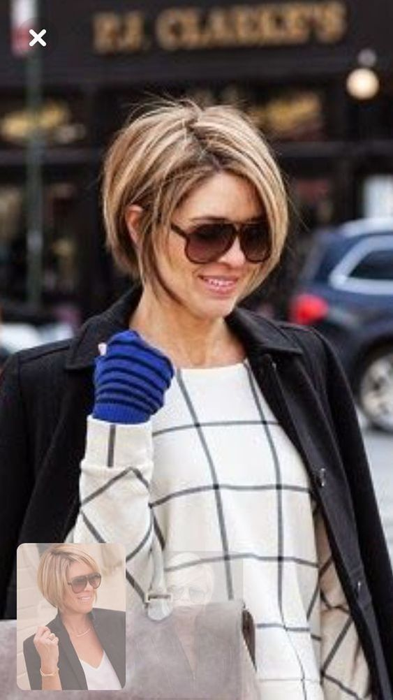 25 Stylish Bob Hairstyles You Must Have In 2020 Fancy Ideas About Everything Short Thin Hair Thick Hair Styles Short Hair With Layers