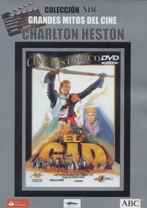 CINE HISTÓRICO MAN - El Cid, película épica y obra maestra de Bronston, es un tributo a una de las mayores leyendas de la historia.