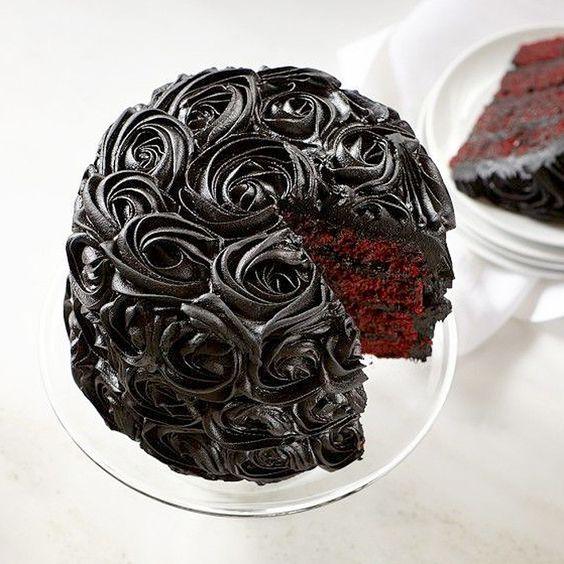 Rose cake chocolat - Rose cake : 10 gâteaux de rêve repérés sur Pinterest - Elle…