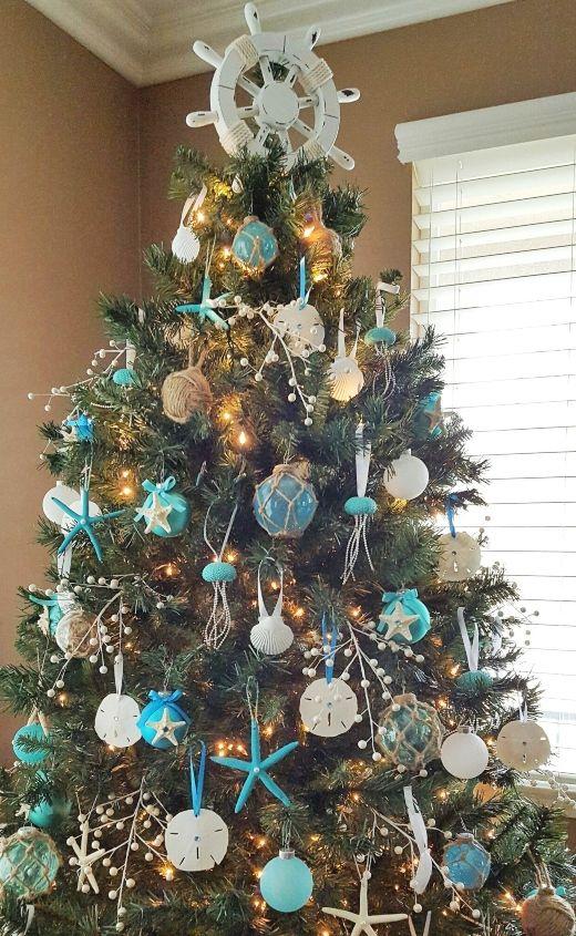 Coastal Christmas Tree Topper Ideas Diy Shop Christmas Tree Themes Christmas Tree Toppers Japanese Christmas