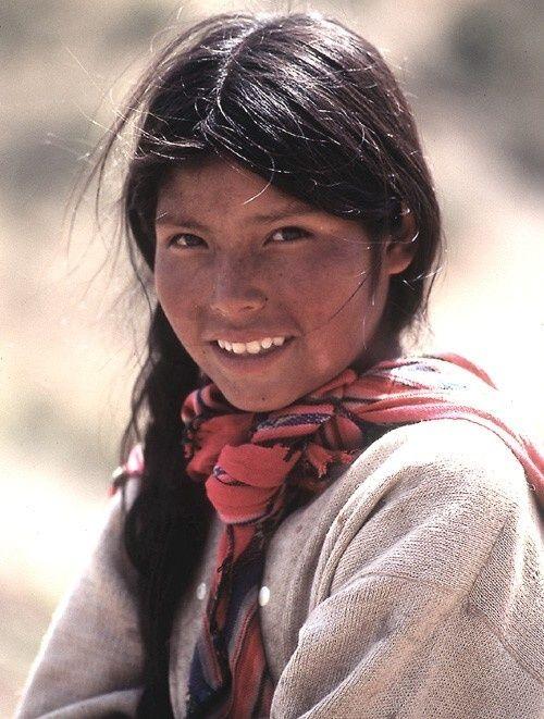 Resultado de imagen de ojos mujeres andinas