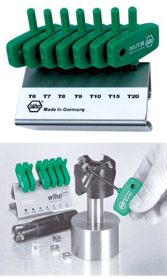 7 Piece Wiha 36590 Torx Hex Key Set Wing Handle