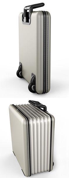 PERFEITA PRA VOCÊ QUE VIAJA MUITO!!!! The Folding Suitcase
