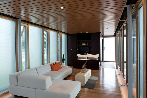 Tennessee: Living Area by Dept of Energy Solar Decathlon, via Flickr
