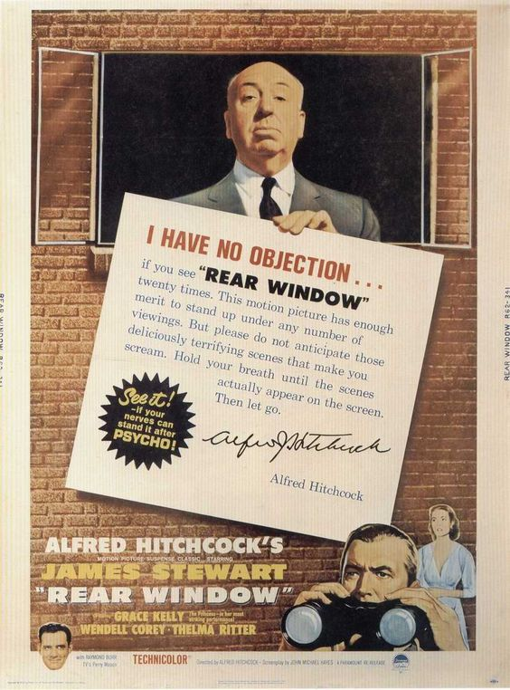Angry Birds vs Alfred Hitchcock   - i have no objection