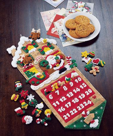 Another great find on #zulily! Santa's Toy Shop Advent Calender Kit #zulilyfinds