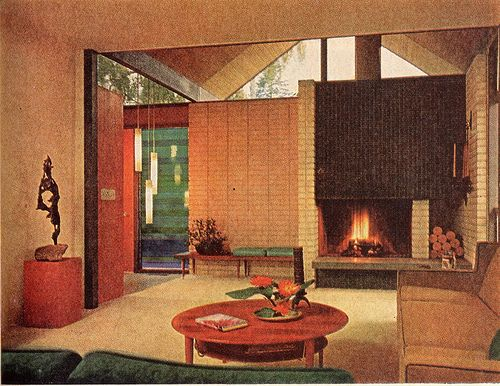 Living Room 1967 | This is a remodel of a 1920's bungalow in… | Ethan | Flickr