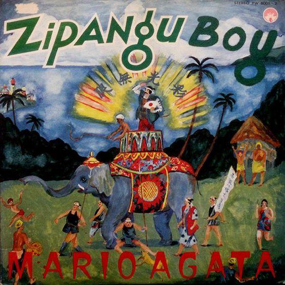 Morio Agata - Zipangu Boy (Vinyl, LP, Album) at Discogs
