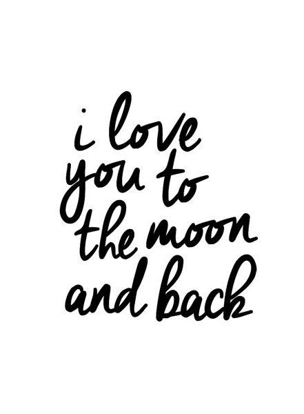 De maan hou van je and citaten on pinterest