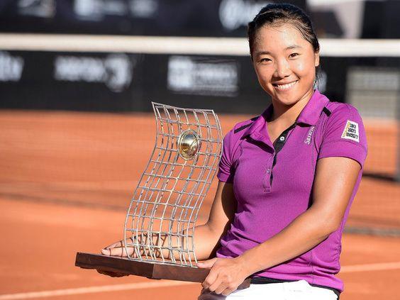Kurumi Nara wins her first title at Rio Open, February 2014