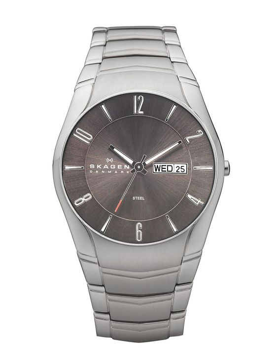 Jewellery & Accessories   Men's Watches   Men's Stainless Steel Link With Brown Dial Watch   Hudson's Bay