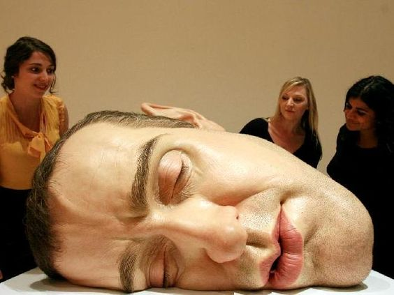 ron mueck's exhibition: