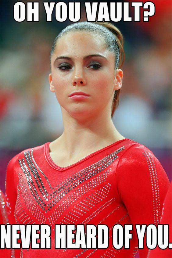 Funny Gymnastics Meme : Mckayla maroney faces and the internet on pinterest