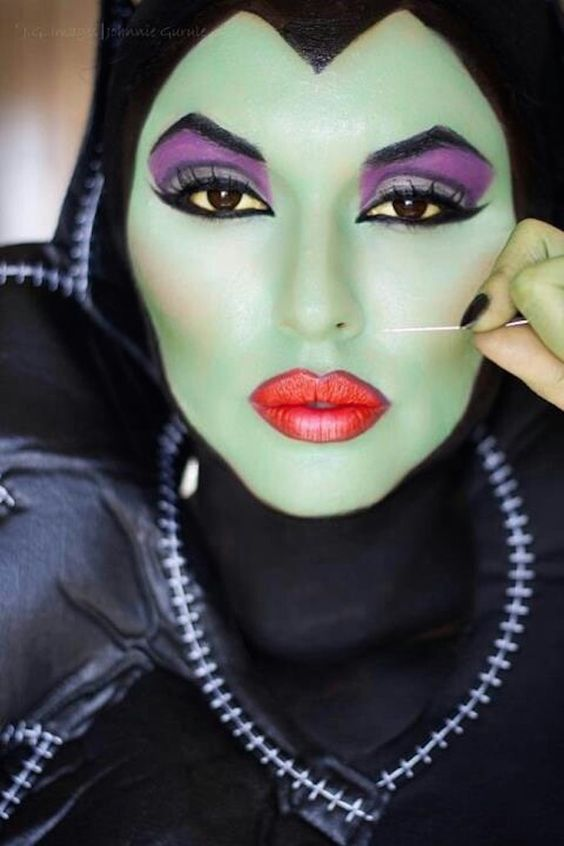 Malificent Makeup