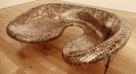 Coin Sofa by Johnny Swing