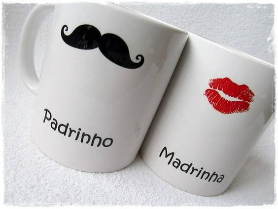 Amei! Pra chamar eles..  Favor mugs. Silhouette work? X: