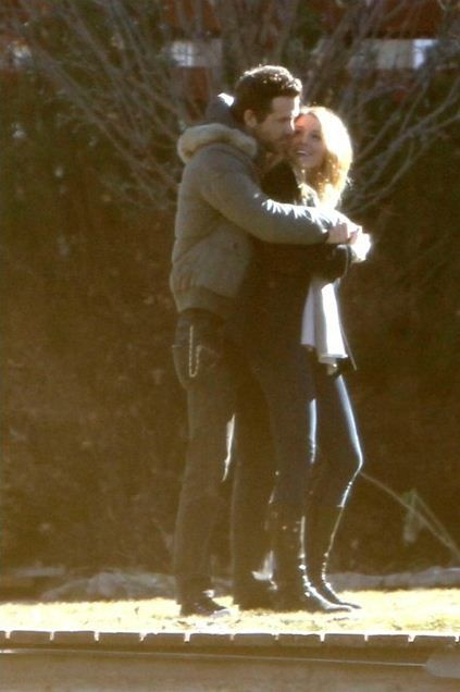 Ryan Reynolds and Blake Lively. They are the cutest couple ever.