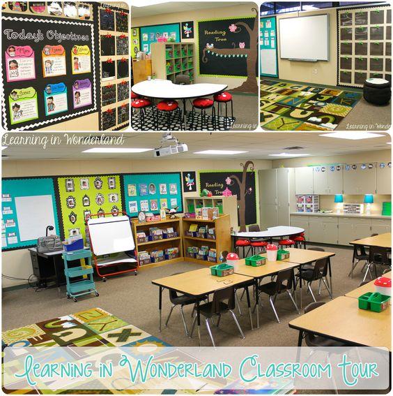 Classroom Design For Grade 4 : Classroom tour beautiful student work displays and
