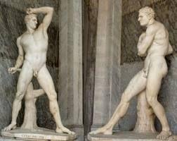 atletas griegos: Sculptures, Atletas Griegos