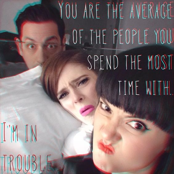 You are the average of the people you spend the most time with. #Padgram