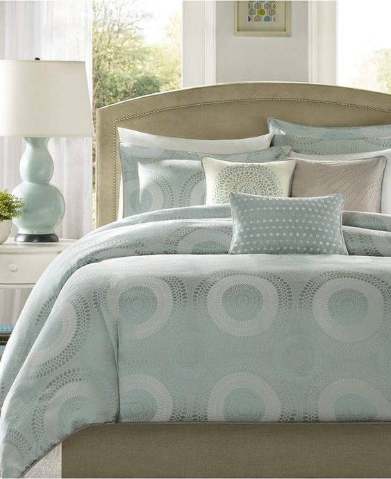 Madison Park Baxter 7 Pc Queen Comforter Set Reviews Bed In A
