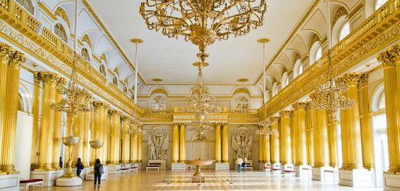 Hermitage Museum. Saint Petersburg