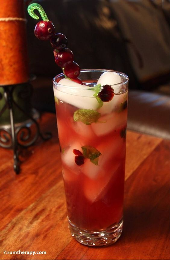 Cranberry Mojito - festive Christmas drink!, Go To www ...